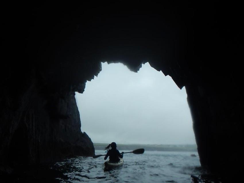 BJ Kayak cave
